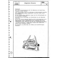 Инструкция к токарному автомату DN 6 ND