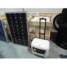 Мобильные солнечные батареи Solaranlage