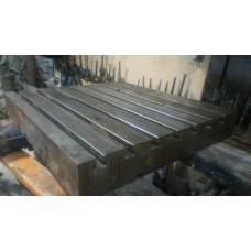 Стол станочный с Т-образными пазами (стальной) 700х630х100