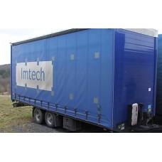 Obermair OS 2-L 105 L 2-осный грузовой трейлер